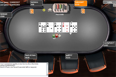 Betsson poker table entraction network